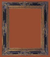 picture frames 24 x 48 ornate black