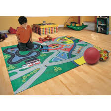 Trafficmaster Town Life Multi 3 Ft X 5 Ft Kids Play Area Rug Agr3656juvp36 The Home Depot