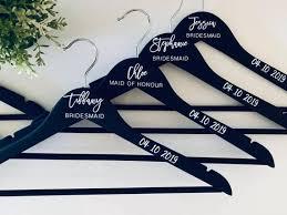 Coat Hanger Decal Personalised Coat Hanger Decal Bride Etsy