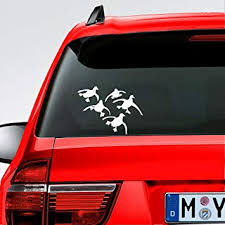 Amazon Com Mountainvalleyclimber Flying Ducks Landing Hunting Sticker Large 7 Waterfowl Duck Commander For Car Truck Decal Motorcycle Vinyl Automotive