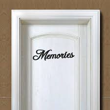 Memories Blessings Family Letter Word Wood Hanging Sign Wall Decal Sticker Room Home Decor Ornament Aug 13b Wall Stickers Aliexpress