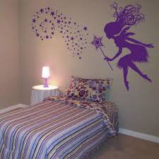 Fairy With A Magical Wand Stars Wall Decals