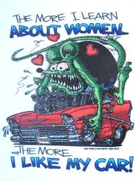 6 5 Rat Fink Women And Cars Decal Sticker Hot Rod Car Man Cave Red 56 Chevy Ebay Collectibles Rat Rods Truck Rat Rod Rat Fink
