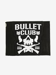 New Japan Pro Wrestling Bullet Club Bi Fold Wallet