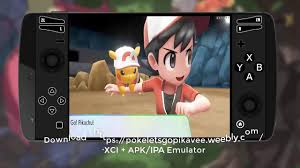 Direct Download Link for Pokemon Let's GO Pikachu Android APK ...