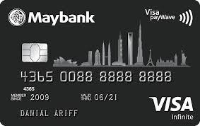 maybank2u maybank visa infinite