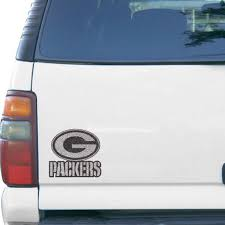 Green Bay Packers Bling Emblem Car Decal