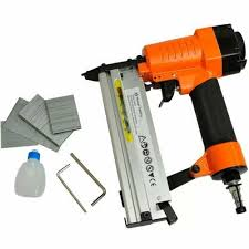 Air Framing Nailer 2000 Nails Brad Gun Tool Stapler Fence Shed Panel For Sale Ebay