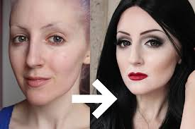 morticia addams makeup tutorial for