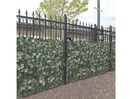 Aleko 4scrn94x39indg Unb 94 X 39 In Privacy Artificial Fence Screen Hedge Wall Set Of 4 Newegg Com