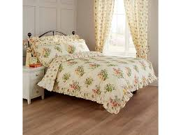 vantona nerissa fl fitted bedspreads