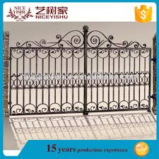 Alibaba Com Artistic Exterior Modern Stainless Steel Gates Desig New Luxury Outdoor Decorative Aluminum Doors Gate Fence Design View Modern Stainless Steel Gates Design Yishujia Product Details From Shijiazhuang Yishu Metal Products Co