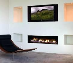 gas fireplace ideas modern corner two