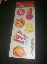 Shopkins Wall Decals 39 New Grocery Stickers Peel And Stick Removable Decor 13 98 Picclick