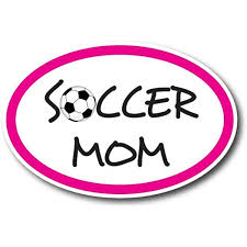 Amazon Com Soccer Mom Car Magnet Decal 4 X 6 Oval Heavy Duty For Car Truck Suv Waterproof Automotive