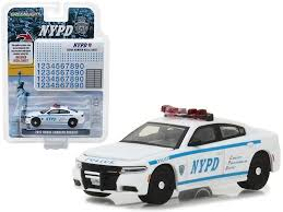 2017 Dodge Charger Pursuit Police New York Police Department Nypd With Nypd Squad Number Decal Sheet Hobby Exclus Diecast Model Cars Car Model Diecast Models