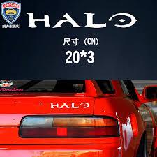 Vibrato Net Red Car Car Stickers Master Chief Halo Vehicle Stickers Car Stickers Car Stickers Creative