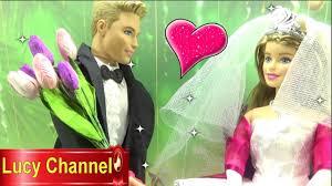 Đồ chơi Lucy Búp bê Barbie & Ken đám cưới làm búp bê cô dâu chú rể ...