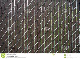 Chain Link Fence Slats Stock Image Image Of Metal Chain 123611283