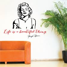 Famous Quote Decals