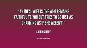 quotes about ideal husband quotes