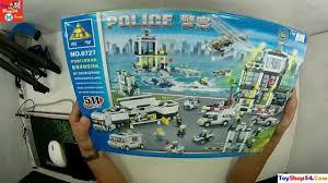 Bộ đồ chơi Lego xây dựng mô hình đồn cảnh sát 6727, Lego police ...
