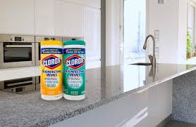 can you use clorox wipes on granite