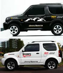 Graphic Vinyl Snow Mountain Bonnet Car Sticker 4x4 Sports Decal For Suzuki Jimny Ebay