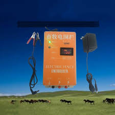 Mega Deal 08ef81 20km Solar Electric Fence Energizer Animal Raccoon Sheep Horse Cattle Poultry Farm Electric Fencing Shepherd Charger Controller Cicig Co