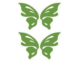 2 Butterflies Lime Green Vinyl Window Decal 3x5 Each Butterfly Van Car Insect For Sale Online Ebay
