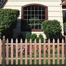 Wood Fencing 42 X 96 Cedar Spaced Picket Fence At Lowes Com