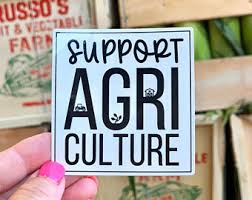 Agriculture Decals Etsy