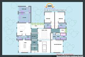 single floor house plan and elevation