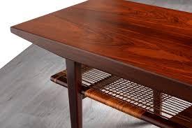 danish 1960 s rosewood coffee table