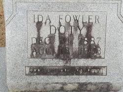 Ida Elizabeth Fowler Doty (1887-1963) - Find A Grave Memorial