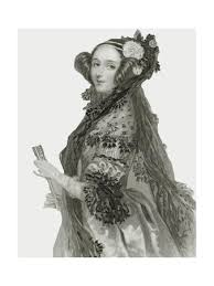 Portrait of Augusta Ada King' Giclee Print - Alfred-edward Chalon ...