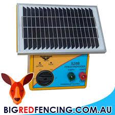 Thunderbird S28b 2 5km Solar Powered Energiser Big Red Fencing