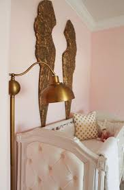 pink and gold nursery reveal house of