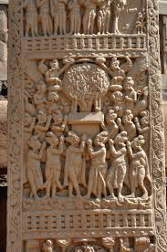 File:Adhyeshana - West Face - South Pillar - West Gateway - Stupa 1 -  Sanchi Hill 2013-02-21 4320.JPG - Wikimedia Commons
