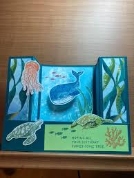 Pin by Adeline Perry on Stampin Up Whale Done in 2020 | Card craft, Fishing  birthday, Card making