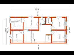 24x50 south facing house plan 2bhk