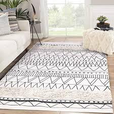 com tufted cotton area rug 4 x