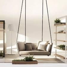 37 indoor hanging sofa designs to add