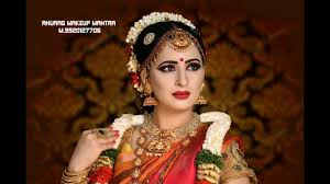 south indian bridal makeup tutorial