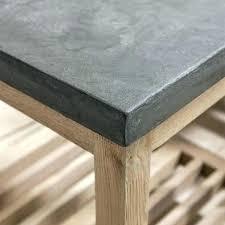 concrete resin table top rectangular