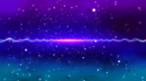 4k neon purple e stars moving