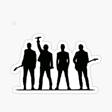 U2 Stickers Redbubble