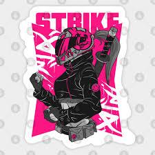 Anime Motorcycle Anime Motorcycle Sticker Teepublic