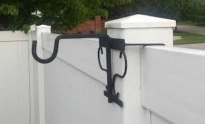 Plant Bird Feeder Hangar For Vinyl Privacy Fence Post Vinyl Privacy Fence Vinyl Railing Vinyl Deck Railing