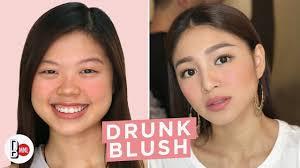 drunk blush look